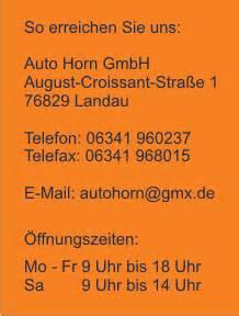 Auto Horn Landau by Gebrauchtwagen Auto Horn