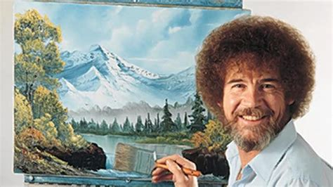 bob ross of painting the of statistically analyzing bob ross happy