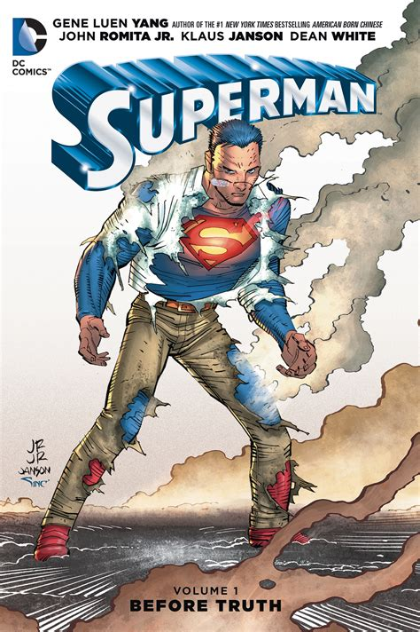 supermantp vol 1 previewsworld superman tp vol 01 before truth
