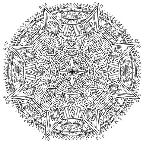 glowing mandalas coloring book for adults diamonds mandala by welshpixie on deviantart m 229 larbilder