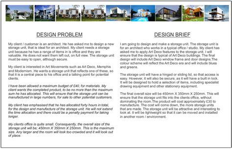 design brief technology student the design brief