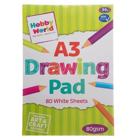 A3 Drawing Pad hobby world a3 drawing pad 289363 b m