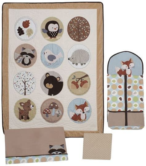 Forest Friends Baby Crib Bedding By Carters On The Money Baby Room Decorating S Forest Friends Crib Set And Accessories