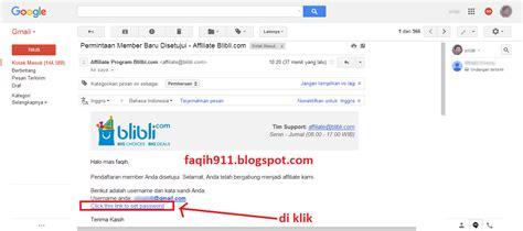blibli affiliate cara mendapatkan uang dari blibli com dengan blogspot
