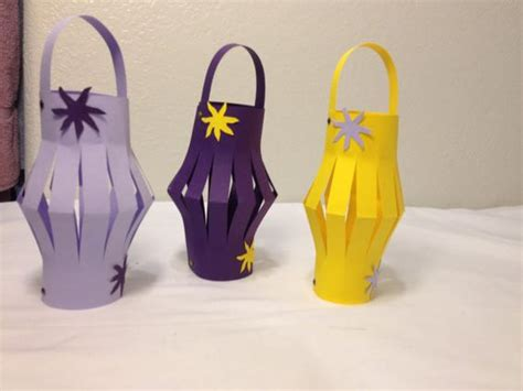 How To Make Paper Lanterns Like In Tangled - made so many of these as a child mainly using