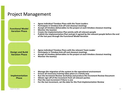 Project Management Exles by Project Management Approach Template 28 Images
