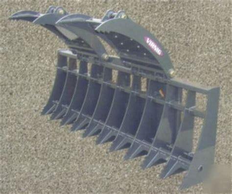 Landscape Rake Wiki Skid Steer Skid Steer Grapple Forks