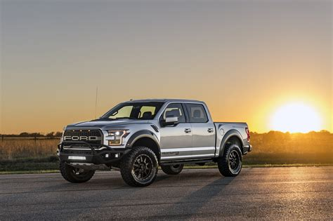 ford svt raptor hennessey hennessey performance tunes the 2017 ford f 150 raptor to