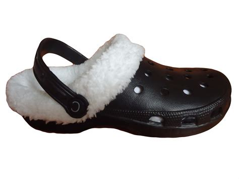 clogs slippers fur lined clogs adults fleece slippers shoes winter
