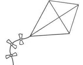 kite coloring pages printable kindergarten craft ideas