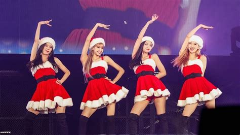 blackpink merry christmas jingle bell rock  kyocera dome concert youtube