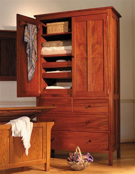 cherry wood armoire wardrobe craftsman 5 drawer armoire in cherry craftsman