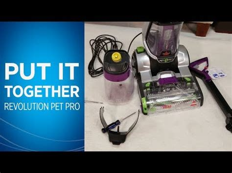bissell proheat  revolution pet pro  carpet cleaning