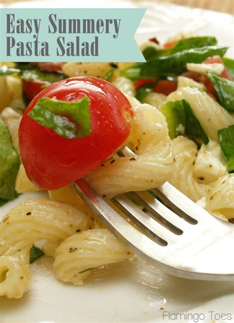easy pasta salad recipes easy summer y pasta salad recipe