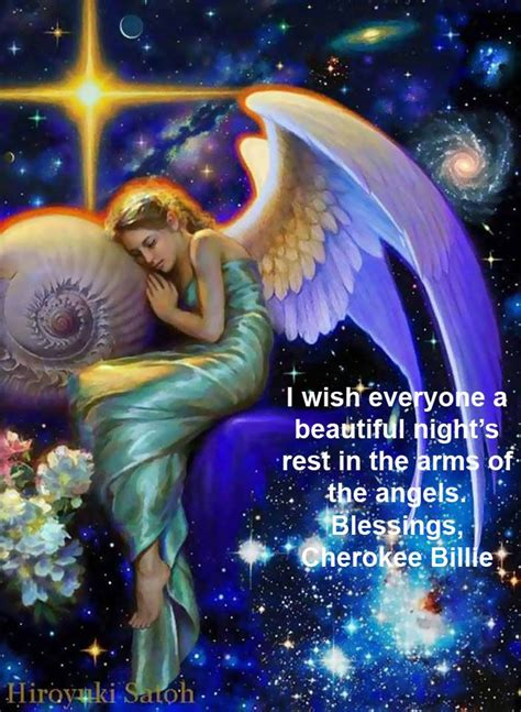 beautiful nights rest   arms   angels blessings cherokee billie