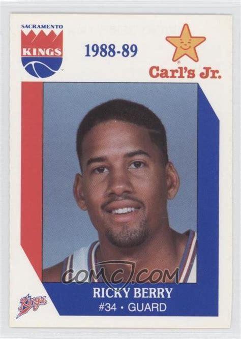 Carl S Jr E Gift Card - 1988 89 king s carl s jr n a ricky berry comc card marketplace