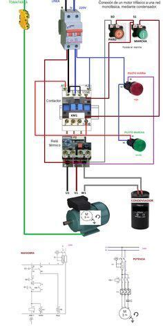 contactor wiring diagram for three phase motor cnc i
