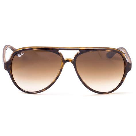 sunglasses ban cats 500 rb 4125 710 51 brown tortoise brown gradient optofashion fashion