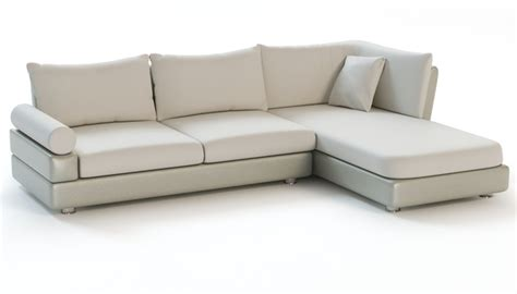 corner sofa with chaise 3d models cgtrader