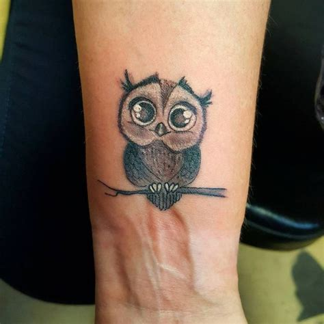 owl tattoo on wrist owl meaning and designs ideas baby owl