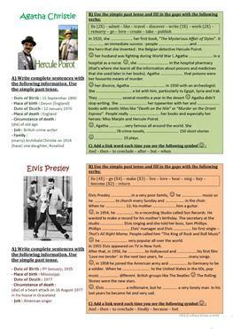 justin bieber biography reading comprehension 100 free esl biography worksheets