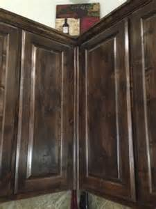 Staining Kitchen Cabinets Darker 1000 Images About Cabinets On Knotty Alder Cabinets Wood Kitchens And Kitchen