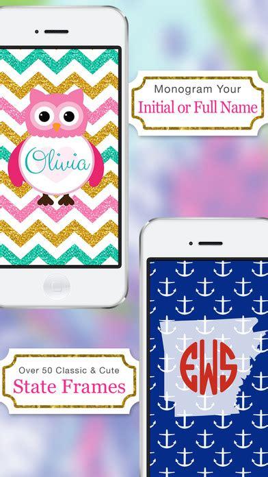 monogram maker mobile monogram wallpaper diy glitter backgrounds maker app