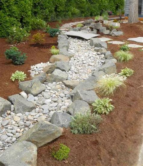 Dry Creek Beds Pet Turf And Other Landscaping Classic
