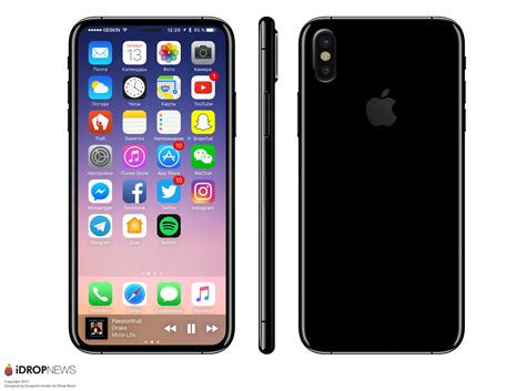 iphone test apple tests iphone 8 prototype with touch id display
