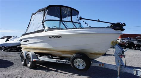 triumph boats phone number triumph boats 191br 2011 used boat for sale in varennes