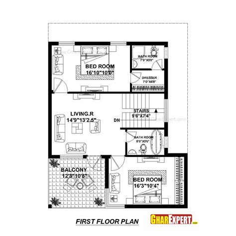 home design for 30x50 plot size house plan for 30 feet by 45 plot