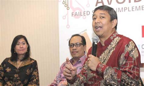 Manajemen Persediaanrichardus Eko Indrajit equine global hadirkan solusi antisipasi kegagalan sistem manajemen bisnis