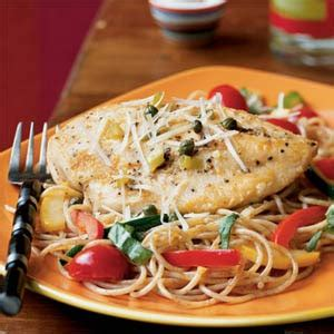 Chicken Piccata Cooking Light by Prudence Pennywise Chicken Piccata With Summer Vegetable