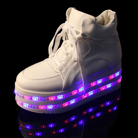 new yeezy layer led light up shoes for