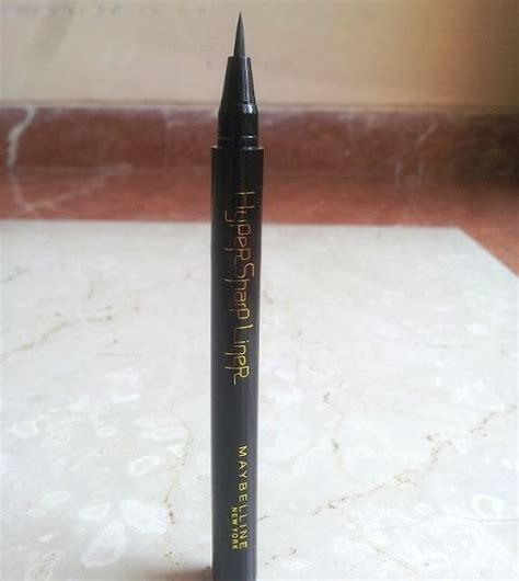 Maybelline Eyeliner Hyper Sharp Power Black Eye Liner Hypersharp Merah maybelline hyper sharp liner review swatches price