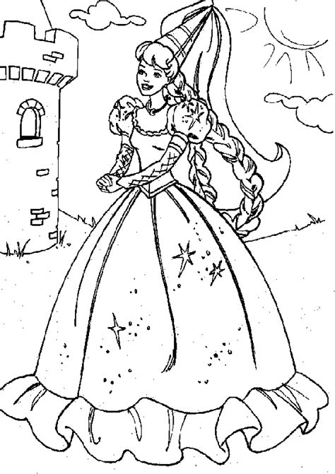 free coloring pages of print images princess