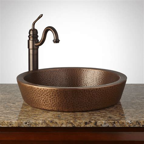 101 guidance about bathroom vanity with copper sink