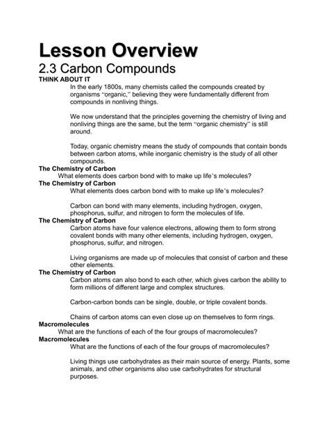 Overview Chemical Bonds Worksheet by 28 Overview Chemical Bonds Worksheet Organic