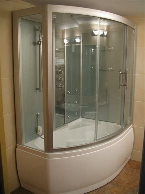 steam shower with bathtub steam shower whirlpool bathtub da328f3 perfect bath canada
