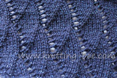 free knitting stitches vertical waves free knitting stitch knitting bee