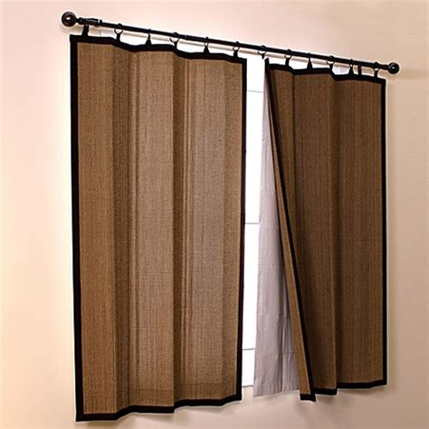 easy glide curtain tracks easy glide bamboo insulating light filtering thermal liner
