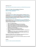 i 751 cover letter sle i 751 cover letter to submit with petition