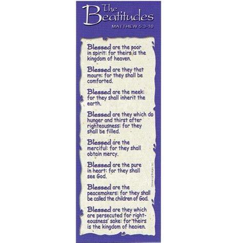printable beatitudes bookmarks beatitudes bookmark pictures to pin on pinterest pinsdaddy