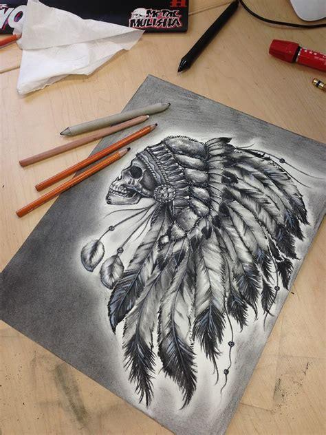 metal mulisha tattoo designs indian skull metal mulisha tatts