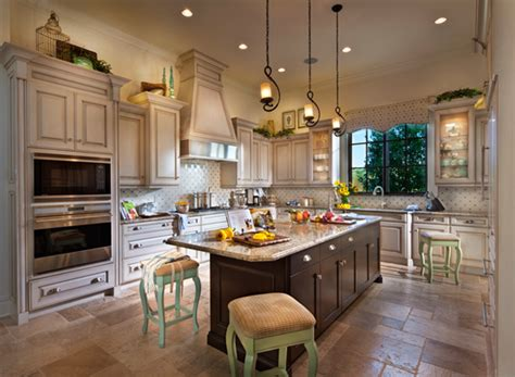 beautiful house interior view of the kitchen inside disney s golden oak luxury homes pursuitist