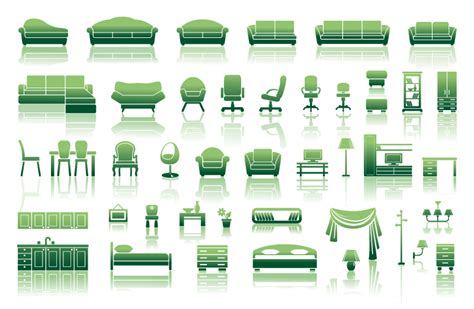 home design vector free download green sofa home design vector free vector graphic download
