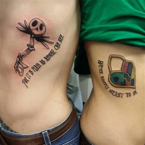 jack and sally couple tattoos best 20 ideas on couples