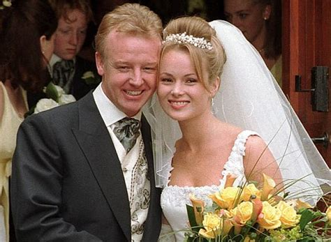 who is amanda holden married to amanda holden les dennis was my saviour even though i