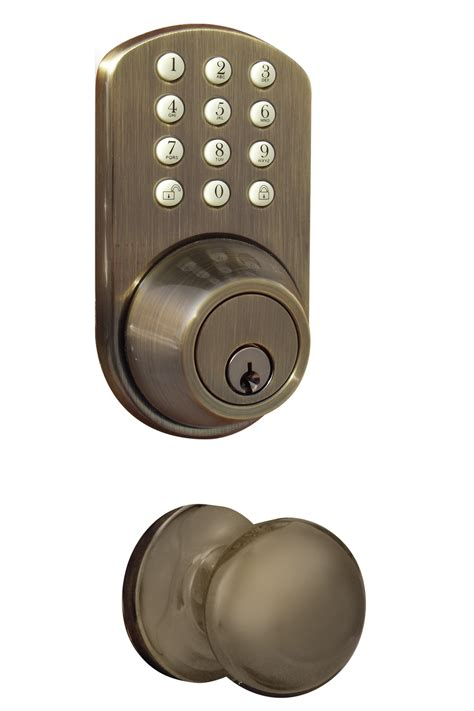 milocks tfk 02 keyless entry deadbolt and door knob lock