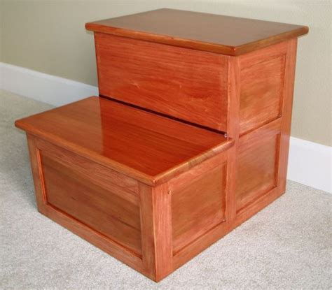 Step Stools For Beds by Bedside Step Stool By David Lumberjocks
